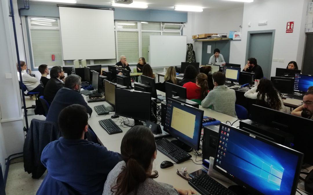 Encontro con empresas do alumnado do CS de Proxectos de Edificación