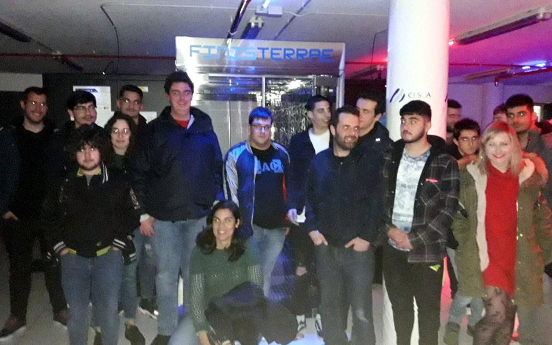 Visita ao CESGA e a FP Innova do alumnado de SMR e ASIR