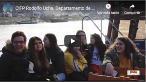 Captura do vídeo da viaxe a Portugal