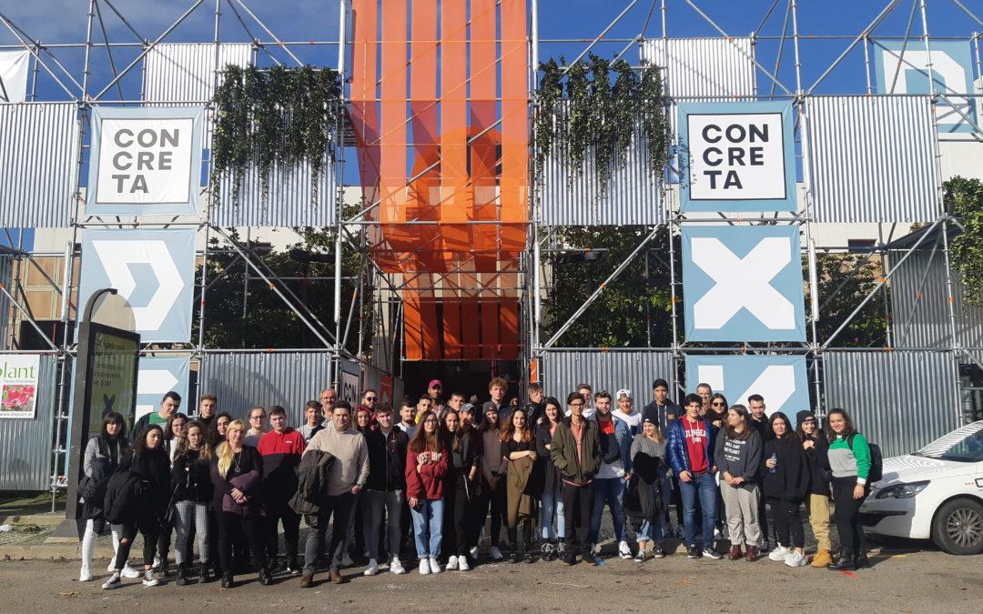 Visita do alumnado do CS de Proxectos  de Edificación a Oporto